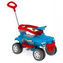Carro de Passeio e Pedal SuperQuad Azul Bandeirante -