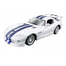 Carro Dodge Viper GT2 - Kit de Montagem - 1:24 - Maisto - New toys