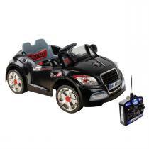 Carro Elétrico Esporte Com Controle Remoto 6V Preto Bel Brink -