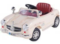 Carro Elétrico Infantil Antigo  - com Controle Remoto Emite Sons Bel Brink 6V