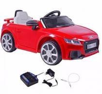 Carro Elétrico Infantil Audi TT RS (Vermelho) R/C 12V - Belfix -