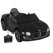 Carro Elétrico Infantil Bentley com Controle  - Remoto 2 Marchas Emite Sons Farol 12V Bel Fix