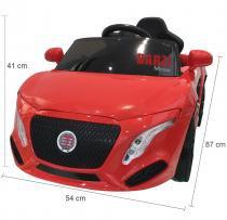 Carro Elétrico Infantil BZ Car com luzes e sons Barzi Motors -