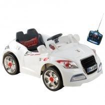 Carro Elétrico Infantil Esporte Branco com Controle Remoto BELFIX - Bel fix