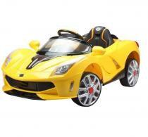Carro Elétrico Infantil Luxo Amarelo 12V - BelFix -