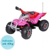 Carro Elétrico Peg Perégo Corral T-Rex Eletrico- 12v- Pink - Peg Pérego