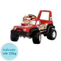 Carro Elétrico Peg Perégo Jeep Nevada Pick-up 6V - Red - Peg Pérego