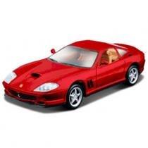 Carro Ferrari 550 Maranello - Kit de Montagem - 1:24 - Maisto - New toys
