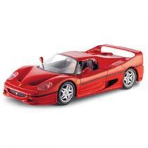 Carro Ferrari F50 Vermelha - Kit de Montagem - 1:24 - Maisto - New toys