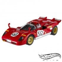 Carro Hot Wheels Elite - Ferrari 512 S: Nick Mason of Pink Floyd - 1:18 - Mattel - California toys