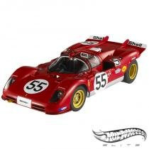 Carro Hot Wheels Elite - Ferrari 512S 1970: 1000 Kilometers of Nurburgring - 1:18 - Mattel - California toys