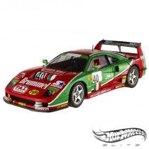 Carro Hot Wheels Elite - Ferrari F40 Competizione Le Mans 1995 40 - 1:18 - Mattel - California toys