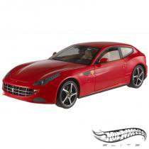 Carro Hot Wheels Elite - Ferrari FF - 1:18 - Mattel - California toys