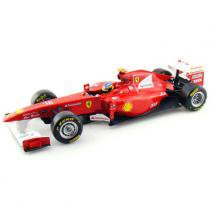 Carro Hot Wheels Racing - Ferrari 150º Italia Fernando Alonso - 1:18 - Mattel - California toys