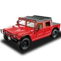 Carro Hummer Soft Top - Kit de Montagem - 1:24 - Maisto - New toys