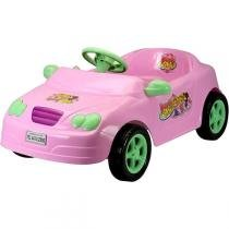 Carro Infantil a Pedal Beauty Girls Rosa 4130 - Homeplay - Homeplay
