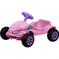 Carro Infantil a Pedal Speedplay Rosa 4054 - Homeplay - Homeplay