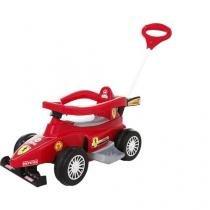 Carro Infantil Super Fórmula - com Som e Empurrador - Calesita