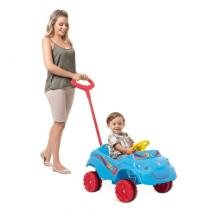 Carro Kid Car Passeio Azul Bandeirante - 555 - Brinquedos bandeirante