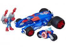 Carro-Lançador Marvel Playskool Heroes Hasbro - E0156 com Acessórios