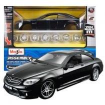 Carro Mercedes-Benz CL63 AMG - Kit de Montagem - 1:24 - Maisto - New toys