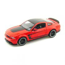 Carro Mustang Boss 302 Vermelho - Kit de Montagem - 1:24 - Maisto - New toys