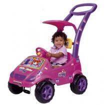 Carro roller baby versatil meg rosa magic toys 1035 - Magic toys