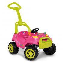 Carro Smart Passeio  Pedal Rosa Bandeirante -