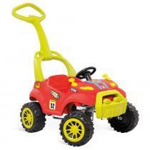 Carro Smart Passeio  Pedal Vermelho Bandeirante - Bandeirante