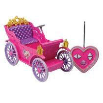 Carruagem Mágica das Princesas Disney com Controle Remoto 5450 - Candide - Candide