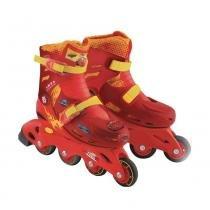 Cars-patins carros tamanho 29 ao 32 dtc 3613 -