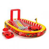 Cars Piscina Playground 636 Litros - Intex - Carros