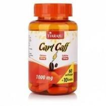 Cart Caff (Óleo de Cártamo + Cafeína)  - 60 + 10 Cápsulas - Tiaraju -