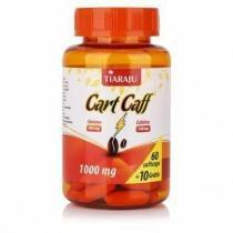 Cart Caff (Óleo de Cártamo + Cafeína)  - 60 + 10 Cápsulas - Tiaraju - Tiaraju