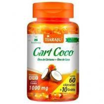 Cart Coco (Óleo de Cártamo + Óleo de Coco) - 60 Cápsulas - Tiaraju -