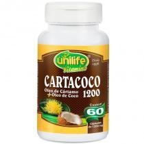 Cartacoco Óleo de Cartamo e Coco 60 cápsulas Unilife - Unilife