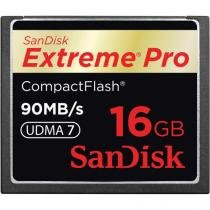 Cartão Compact Flash 16GB SanDisk Extreme Pro 90MB/s (600X) UDMA7 -