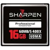 Cartão Compact Flash 16Gb Sharpen 60Mb/s (400x), UDMA5 -