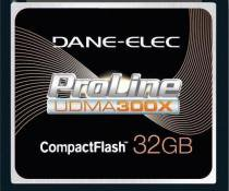 Cartão Compact Flash 32Gb Dane-Elex Proline 300X UDMA de Alta Performance - Dane-elec