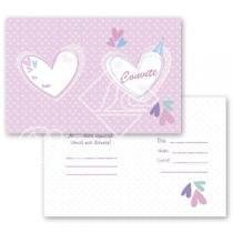 Cartão Convite com 10un (10x7,5cm) LC-02 Litocart - Litocart