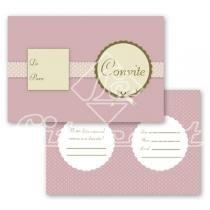 Cartão Convite com 10un (10x7,5cm) LC-05 Litocart - Litocart