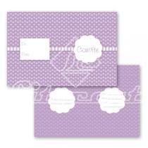 Cartão Convite com 10un (10x7,5cm) LC-07 Litocart - Litocart