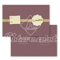 Cartão Convite com 10un (10x7,5cm) LC-15 Litocart - Litocart