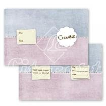Cartão Convite com 10un (10x7,5cm) LC-18 Litocart - Litocart