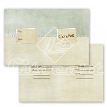 Cartão Convite com 10un (10x7,5cm) LC-19 Litocart - Litocart