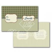 Cartão Convite com 10un (10x7,5cm) LC-33 Litocart - Litocart