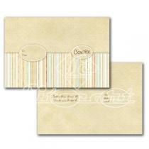 Cartão Convite com 10un (10x7,5cm) LC-35 Litocart - Litocart