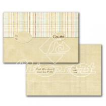 Cartão Convite com 10un (10x7,5cm) LC-36 Litocart - Litocart