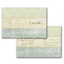 Cartão Convite com 10un (10x7,5cm) LC-39 Litocart Litocart