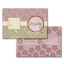 Cartão Convite com 10un (10x7,5cm) LC-45 Litocart - Litocart